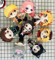 Kimetsu No Yaiba Demon Slayer Tanjirou Nezuko Giyuu Plush Doll Stuffed Toy Gift