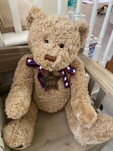 "Gund Wish Bear 100th Anniversary Of The Teddy Bear 26"" 2002 w Tag America"