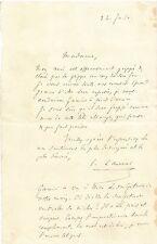 art lettre adressée à Jeanne de Castries-Beaumont sculpture Chopin masque