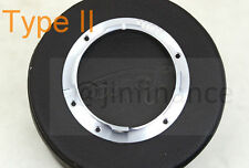 6 bit flange adapter type II for Leica M8 M9 lens 28mm 90mm