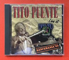 Tito Puente Live At Birdland Dancemania 99 Salsa CD RMM 1998 Puerto Rico