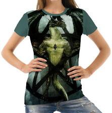 Normalgröße Kurzarm Damen-T-Shirts aus Polyester