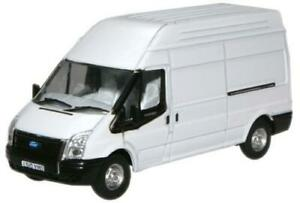 Oxford Diecast 1:76 Scale New Ford Transit LWB High - White 76FT006
