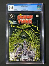 Swamp Thing #52 CGC 9.8 (1986) - Alan Moore story