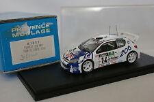 Provence Moulage Kit Monté 1/43 - Peugeot 206 WRC Tour de Corse 1999 N°14