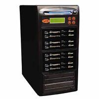 Systor 1:7 USB/SD/CF/MS Flash Memory Combo Card Duplicator - CD DVD Copier
