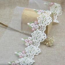 1Yard High Quality Beautiful Gauze Flower Lace DIY Trim Sewing Fabric Wide 9.5cm