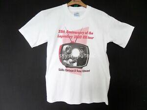Collectible 35th Anniversary Eddie Cochran/Gene Vincent T-shirt - Size Med - BN