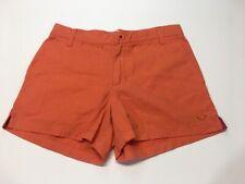 "ROXY - Womens Size 5 - Chino Shorts, Orange, 4""inseam"