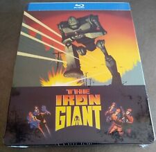 The Iron Giant (1999) Blu-Ray Usa Exclusive Limited Edition Steelbook