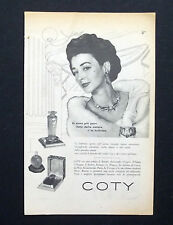 C705 - Advertising Pubblicità- 1953 - COTY PROFUMI