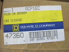 Square D Acp1Ec, 100 Amp Bus Duct End Closure, New