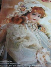 Mundia Cecile et Christine VICTOIRE Doll Ad Advertisement ONLY