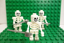 LEGO Lot 3 Skeleton Crew Minifigs / Castle / Monster / Weapons NEW