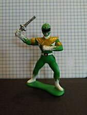 "Bandai Green Ranger MMPR Mighty Morphin Power Rangers 3"" PVC Figure 1993"