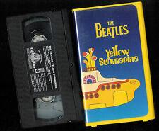 THE BEATLES- YELLOW SUBMARINE ( VHS)  VERY FINE tape/  VERY GOOD box
