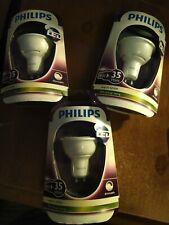 PHILIPS LED GU10 LIGHT BULBS WARM WHITE 89% ENERGY SAVING SPOTLIGHT 4W = 35W