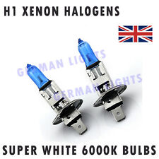 *2x H1 SUPER XENON WHITE HEADLIGHT BULBS 6000K AUDI BMW MERCEDES FORD GOLF  Hid