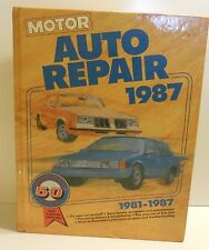 Motor Auto Repair Manual 50th Edition 1981-1987 • First Printing