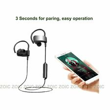 4.1 Bluetooth Headphone Headset Wireless Running Walking Earphone iPhone Samsung
