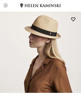 NEW Helen Kaminski - Avara Raffia Fedora Hat