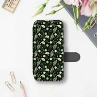 Cute iPhone 7 8 Plus Wallet Case Floral iPhone X 6 6s Cover Flowers iPhone SE 5s