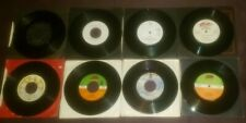 Lot of 8 late 70s early 80s rock UK import 45 Boney M Andrew Gold Mick Jackson