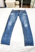 Pantaloni jeans uomo REV Taglia W33 Elasticizzati 2% elastan