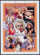 Chad 704J MNH Marilyn Monroe, Music, Movies