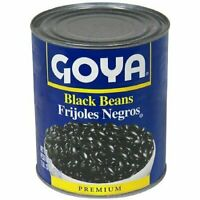 12 PACKS : Goya Black Beans, 47 Ounce
