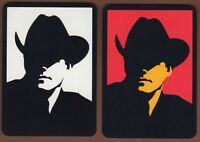 Playing Cards 2 x Single Card Old Wide MARLBORO MAN Cigarette Advertising Art