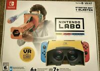 Nintendo Labo Toy-Con 04 VR Kit Starter Set and Blaster (2019) NEW For Switch