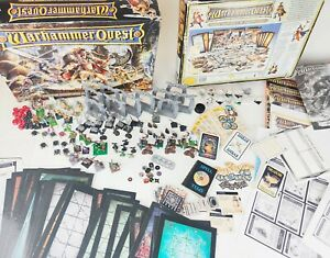 Warhammer Quest 1995 Board Game by Games Workshop PAINTED 100% complete