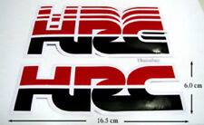 New Honda HRC Factory  Stickers Decals Motocross  Bike and  Car Racing Black/Red