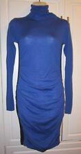Victoria's Secret Moda International Italian Merino Wool Blue Sweater Dress