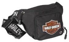 Harley-Davidson Bar & Shield Logo Belt Bag, Water-Resistant 99426-BLACK