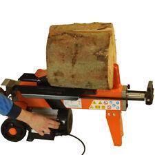 FOREST MASTER 5 ton electric log splitter FM8 For Hard Seasoned wood timber