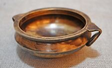 Original Vintage Hand Crafted Casted Brass Kitchenware Rice Cooking Urli Bowl