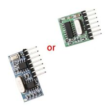 For Remote Control 433mhz Wireless RF Receiver 1527 Learning Code Decoder Module