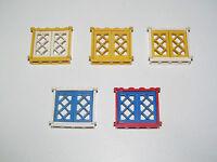 Lego ® Fenêtre Bateau Pirate Vintage 1X4X3 Windows Choose Model 3853 + 2529