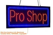 Pro Shop Sign,TOPKING Signage,LED Neon Open,Store,Window,Shop,Business,Display