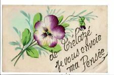 CPA Carte postale France-Fantaisie-De Trélazé je vous envoie ma pensée VM24398p
