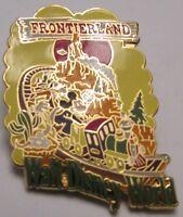 Disney WDW Frontierland Mickey & Goofy Pin
