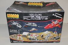 BEST LOCK CONSTRUCTION SET 1000 PIECES WAR OF THE PLANETS W/ORIG BOX LEGO SPACE