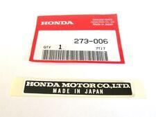 Honda z50 cb160 cl160 cb175 cl175 honda motor co ltd FRAME EMBLEM DECAL STICKER
