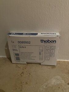 theben ELPA 8 Treppenlicht-Zeitschalter 230V. 1-7 min,3+4 Leiterschaltung.