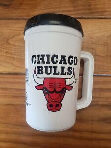 Vtg Chicago Bulls Jordan 1992 NBA Super Thermo 22 Oz Insulated Beverage Mug
