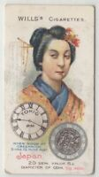 Japanese Woman 1900 Clothing  Fashions Hat Coin Tokyo 100+ Y/O Trade Ad Card