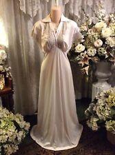 Decidedly Feminine ~ Vtg Van Raalte Soft Pink Satin Suavette Nightgown ~ Sz 32