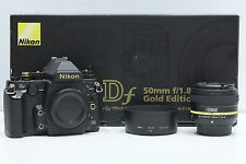 Nikon Df Gold Limited Edition Gehäuse mit AF-S 50mm f/1.8G Special - Top